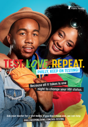 TEST. LOVE. REPEAT.Philly, Keep on Testing!